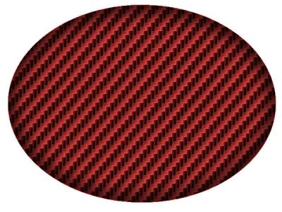 Вид покрытия на красном базовом цвете
