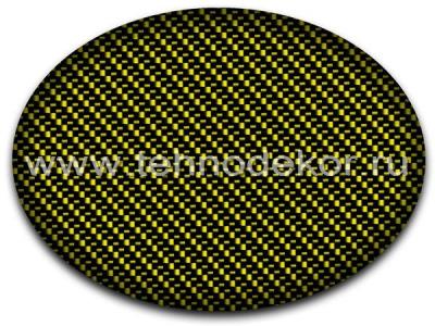 Вид покрытия на желтом базовом фоне