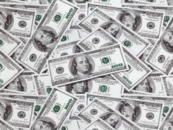 Доллары - ширина 50 см