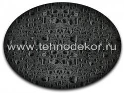 Вид покрытия на черном базовом фоне