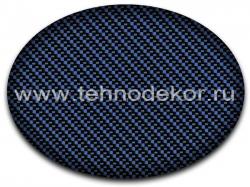 Вид покрытия на синем базовом слое