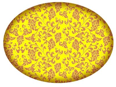 Хохлома золотая - ширина 50 см